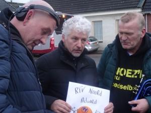 Theo in gesprek met Ronald Niemeijer en Henk de Haan